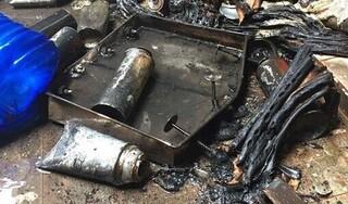 Bình gas mini phát nổ khiến người đàn ông cụt bàn tay phải