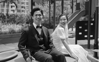 Hé lộ ảnh cưới lãng mạn cùng dàn khách mời 'khủng' của đám cưới Công Phượng