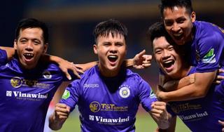 Bộ đôi cầu thủ Hà Nội FC tranh giải cầu thủ hay nhất V.League