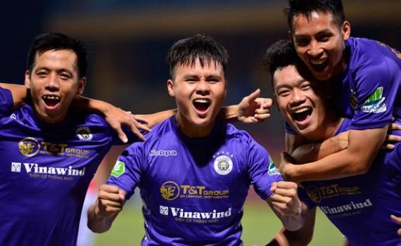 Quang Hải Văn Quyết cạnh tranh giải thưởng cầu thủ hay nhất V.League