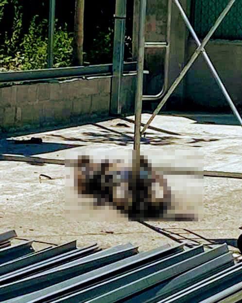 Dựng giàn giáo va trúng đường dây điện trung thế, 1 người tử vong