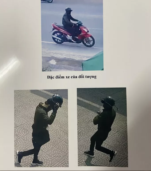 Đặc điểm nhận dạng kẻ cướp Ngân hàng SHB ở Bình Dương