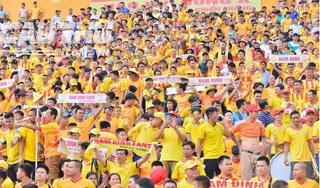 Khán giả Nam Định đến sân Thiên Trường cao hơn 9 đội ở La Liga