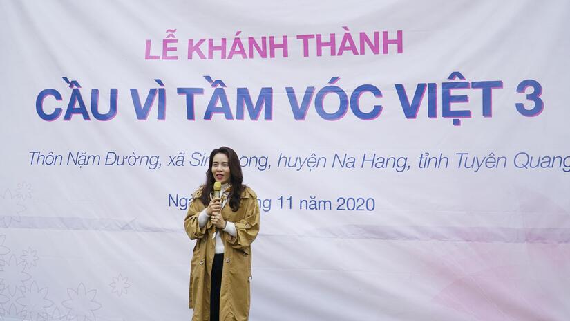 Khánh thành cây cầu kết nối 600 hộ dân vùng cao tỉnh Tuyên Quang