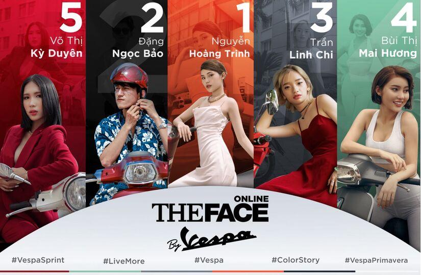Mạc Trung Kiên, Quỳnh Anh và Trâm Anh bất ngờ trở thành huấn luyện viên The Face online by Vespa