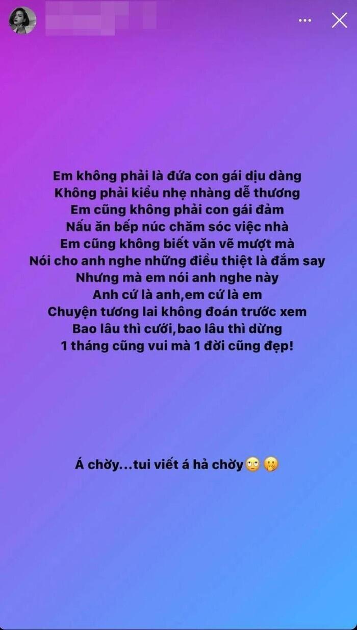 Giữa nghi án hẹn hò, 'bạn gái tin đồn' Huỳnh Phương có động thái lạ