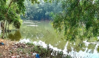 2 bé gái rơi xuống hồ nước tử vong thương tâm