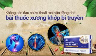 Không còn đau nhức nhờ bài thuốc xương khớp bí truyền