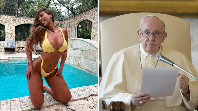 Tài khoản của Giáo hoàng thích ảnh siêu mẫu nóng bỏng, tòa thánh Vatican vào cuộc