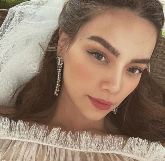 Lộ hậu trường ảnh cưới 'siêu ngọt' của Hà Hồ - Kim Lý