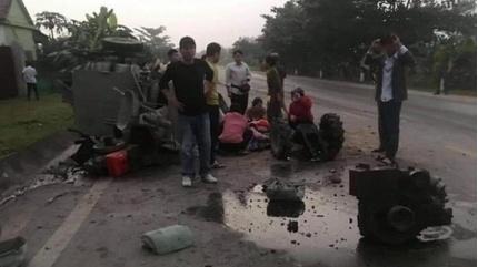 Tin tức tai nạn giao thông ngày 23/11: Xe