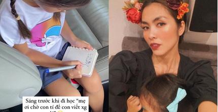 Con gái Hà Tăng được khen hết lời vì hành động đáng yêu này