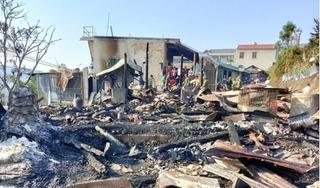 7 căn nhà ở An Giang bị thiêu rụi hoàn toàn lúc rạng sáng