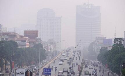 Ô nhiễm không khí tại Hà Nội và TP.HCM ở mức báo động