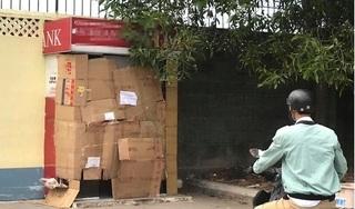 Truy bắt đối tượng bịt mặt cưa trụ ATM trộm tiền lúc 3h sáng