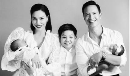 Hà Hồ khoe ảnh gia đình 5 thành viên hạnh phúc đúng dịp sinh nhật
