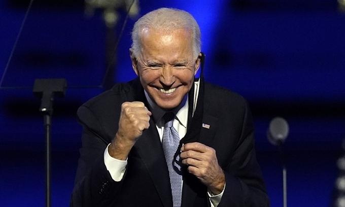 Phiếu bầu cho ông Biden đạt kỷ lục cao nhất lịch sử bầu cử Mỹ