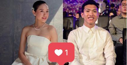 Bạn gái tin đồn Đoàn Văn Hậu tung ảnh mặc váy cưới khiến dân tình rần rần