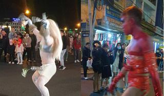 Làm trò phản cảm ở phố đi bộ Đà Lạt, 2 thanh niên bị phạt tiền