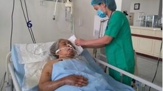 Bà cụ 79 tuổi ở Bắc Giang nguy kịch do bị mò đốt