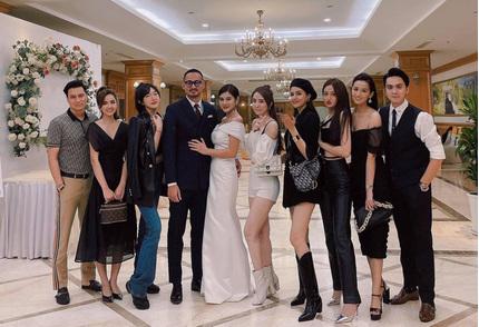 Dàn sao Hà thành đọ sắc trong tiệc mời cưới MC Thu Hoài