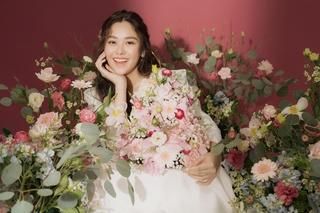 Á hậu Tường San thông báo chuẩn bị lên xe hoa