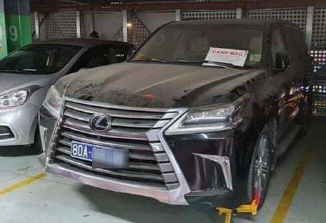 Xe Lexus gắn biển 80A ở Tân Sơn Nhất: Cục CSGT nói gì?