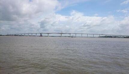 Sau 2 ngày mất tích, thi thể nữ sinh được tìm thấy trên sông Vàm Cỏ