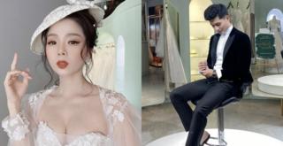 Hậu tin đồn hẹn hò Lệ Quyên, Lâm Bảo Châu bất ngờ đăng ảnh thử đồ cưới