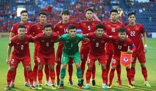 Đội tuyển Việt Nam tăng bậc trên bảng xếp hạng FIFA