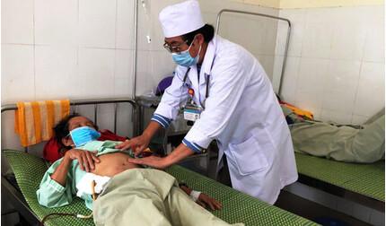 Người đàn ông khiếm thị ở Quảng Ngãi mắc bệnh 'vi khuẩn ăn thịt người'