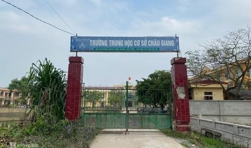 Vụ nam sinh lớp 9 ở Hà Nam tử vong trong giờ ra chơi: Tạm giữ 1 học sinh