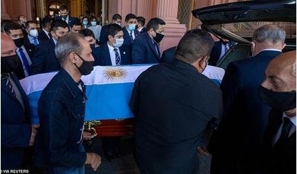 Tiếp tục điều tra về cái chết của Maradona do y tá khai báo sai