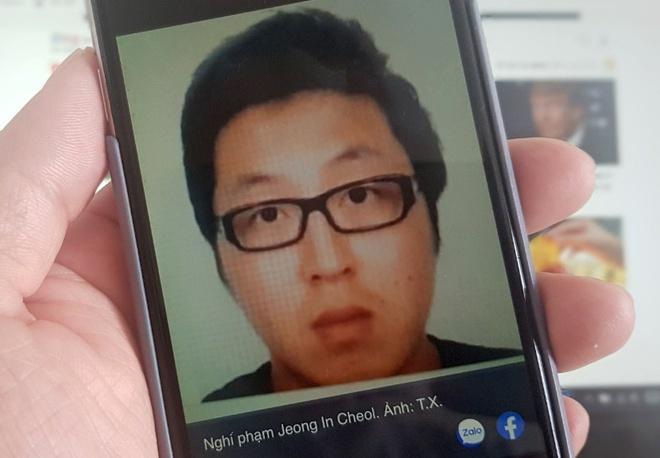 Vụ xác người giấu trong vali ở quận 7, bắt được nghi phạm Jeong In Cheol