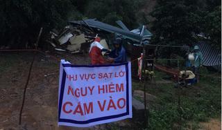 Sạt lở núi vùi lấp 3 căn nhà ở Đắk Lắk