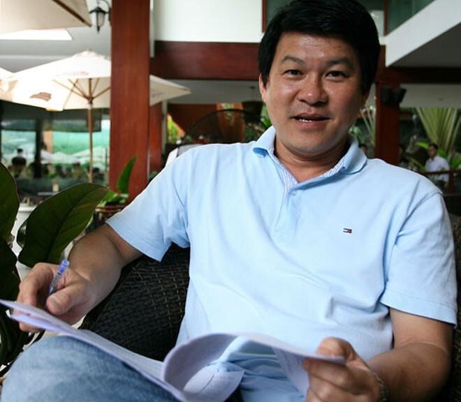 HLV Sài Gòn FC Vũ Tiến Thành