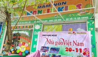 Một cơ sở mầm non ở Quảng Ninh bị đình chỉ vì nghi giáo viên đánh trẻ