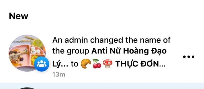 Group hơn 100 nghìn antifan của Hương Giang bất ngờ đổi tên thành... 'Thực đơn ăn dặm'