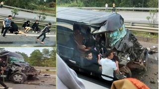 Tin tức tai nạn giao thông ngày 30/11: Xe Limousine tông đuôi ô tô đầu kéo, 8 người bị thương