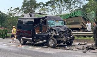 Xe Limousine tông xe đầu kéo, 1 nữ cán bộ Tỉnh ủy tử vong