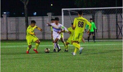 Thua HAGL, U17 Hà Nội nguy cơ bị loại ở giải Cup quốc gia