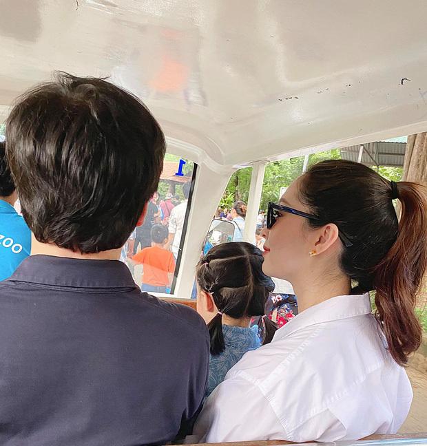 Hoa hậu Đặng Thu Thảo chính thức công khai quý tử, ông xã Trung Tín ghen tỵ ra mặt vì lý do này