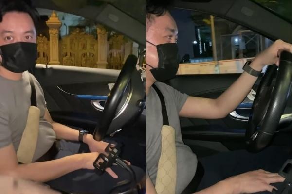 Sara Lưu bất lực vì tính đãng trí của ông xã Dương Khắc Linh