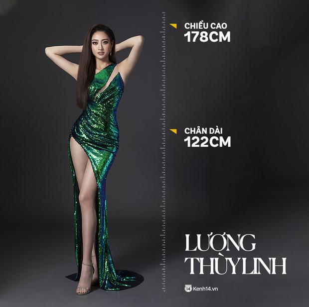 'Đọ sắc' bên Lương Thùy Linh, Hoa hậu Đỗ Thị Hà lộ thân hình gầy gò