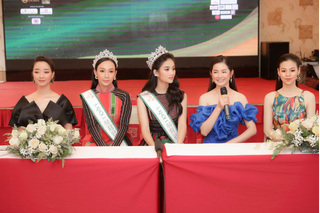 2 Á khôi Miss Tourism 2020 nói gì khi không có Hoa khôi?