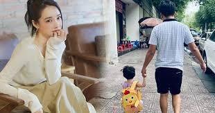 Nhã Phương khoe ảnh chồng và con gái cực đáng yêu