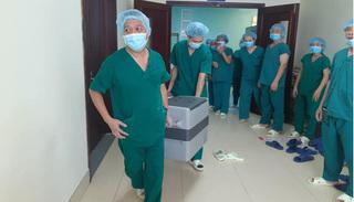 Chàng trai 30 tuổi hiến tạng, cùng lúc hiện diện thân thể mình ở 3 miền đất nước