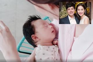 Hoa hậu Đặng Thu Thảo 'khoe' con trai 7 tháng tuổi