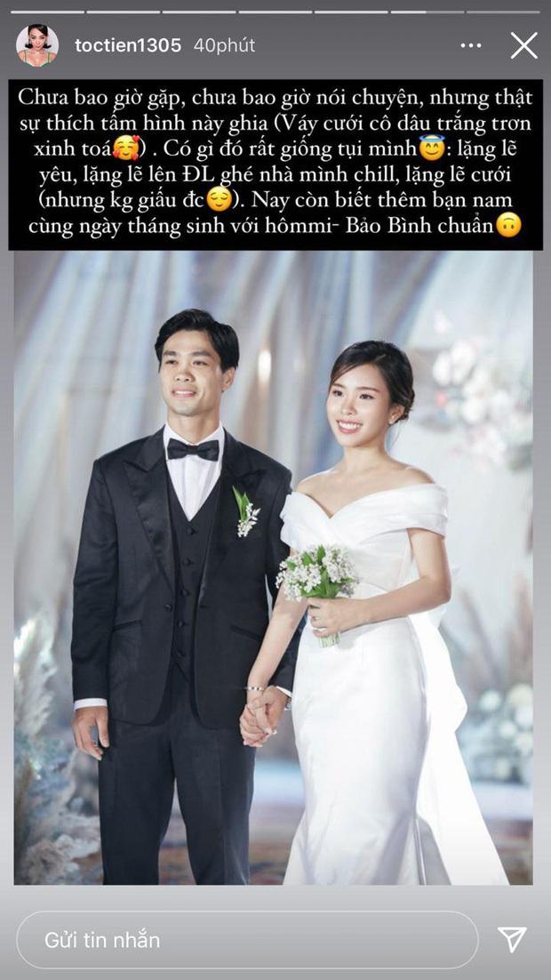 Tóc Tiên phát hiện điểm thú vị về đám cưới của mình với Công Phượng - Viên Minh