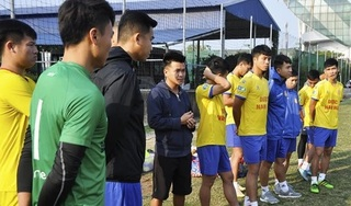 CLB DNH Nam Định lên đường đi tập huấn chuẩn bị cho mùa giải mới